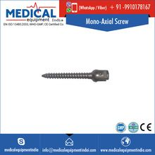 Orthopedic Titanium Surgical Mono-Axial Screw