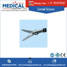 surgical Laparoscopic Curved Scissors