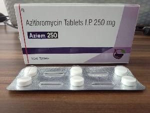 Azithromycin 250 mg & 500 mg Tablets