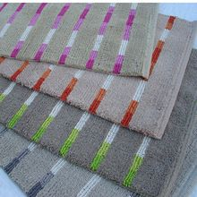 Cotton Linear Bath mat