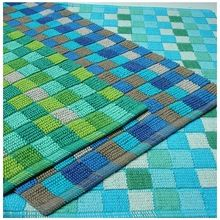 Frame Loom Cotton Bath Mat