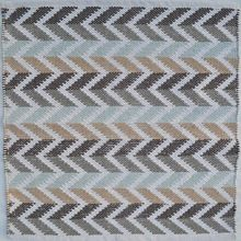 Indian Zig Zag Pattern floor mat