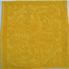 Jacquard Loom Yellow Bathmat