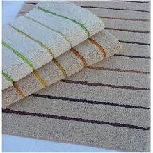 Washable Frame Loom Luxury Bath mat