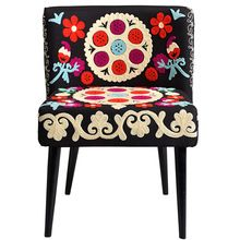 Beautiful Embroidery Design Chair