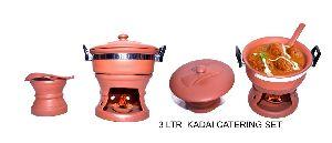 MC RCS54 Mud Kadai Catering Set