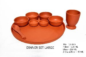 MC RP64 Mud Dinner Plate Set