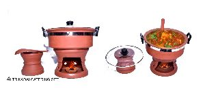 MC RCS50 Mud Kadai Catering Set