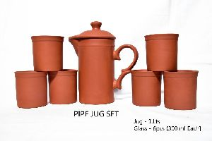 Mud Pipe Jug Set