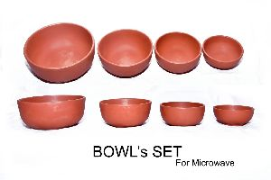 Mud Round Bowl Set