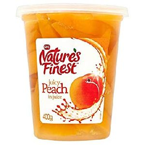 Canned Peach Slices
