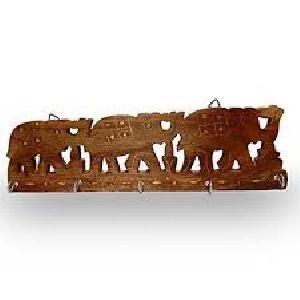 Wooden Key Hanger 05