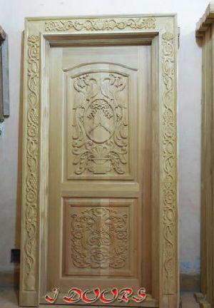 Wooden Main Door 05