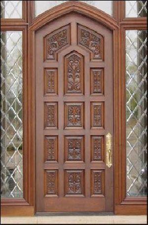 Wooden Main Door 06