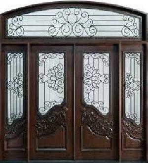 Wooden Main Door 07