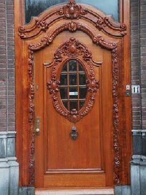 Wooden Main Door 08