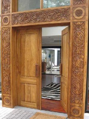 Wooden Main Door 09
