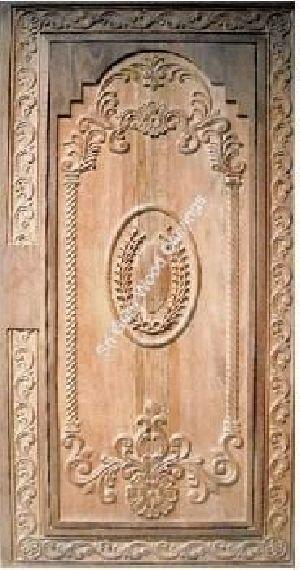 Wooden Main Door 10