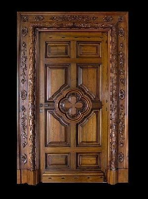 Wooden Main Door 11