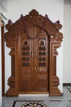 Wooden Main Door 13