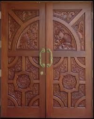 Wooden Main Door 14