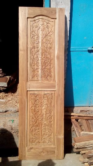 Wooden Main Door 22