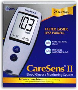 CareSens II Blood Gluscose Mointoring System