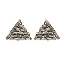 Baguette Cut Stud Earrings