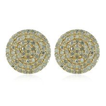 Gold Diamond Stud Earrings