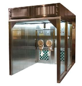Stainless Steel Sampling Booth