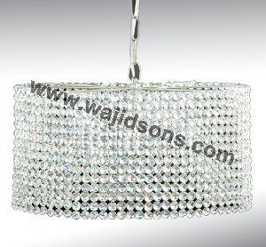 Crystal Hanging candle holder