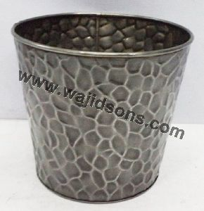 metal goat flower pot planter