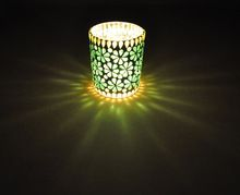 Home Decoration Mosaic Pattern Tea Light Holders