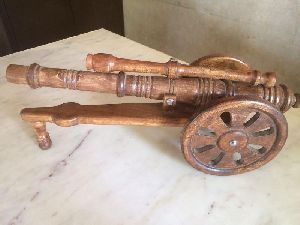 Wooden Toy Cannon