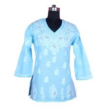 Embroidered Women Tunic Dress