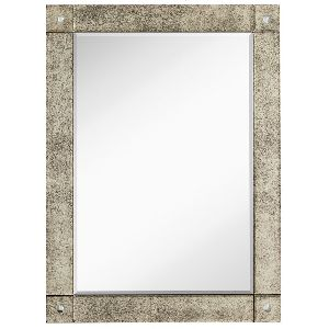 Antique Frameless Wall Mirror