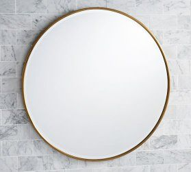 Brass Antique Mirror