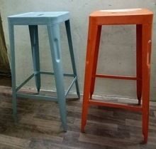 Stackable Metal Bar Stool