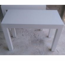 White Color Solid Wood Dining Table