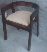 Wood Low Back Dining Chair