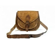 High Quality Vintage Style Sling Bag Leather Women