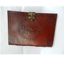 Real leather hand made leather diary and notebook