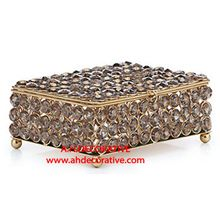 Crystal Jewelry Box With Feet