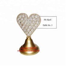 Gold Guest Table Name Card Holder