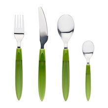 Stainless Steel Cutlery Set Green