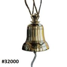 Vintage Style Solid Brass Decorative Churh Bell