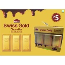 Swiss Gold Chocolate Bar