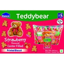 Teddy Bear Center Filled Biscuits