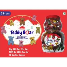 Teddy Bear Mix Fruit Candy