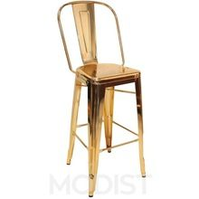 Gold Plated High Stool Bar Chair